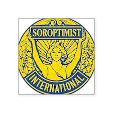 Soroptimist International (Blue/Gold) Sticker