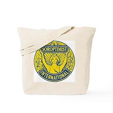 Soroptimist International (Blue/Gold) Tote Bag