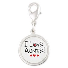 I Love Auntie - Kid Scribble Charms