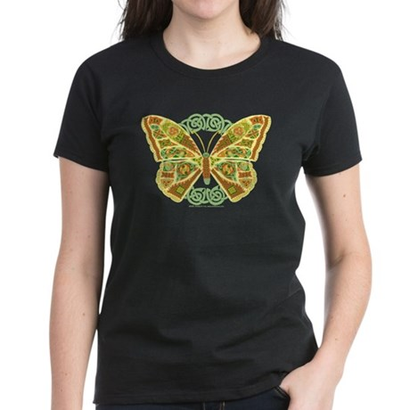 Celtic Butterfly Women's Dark T-Shirt