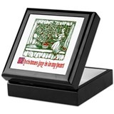 Joyous Christmas Keepsake Box