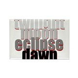 Twilight Series Rectangle Magnet
