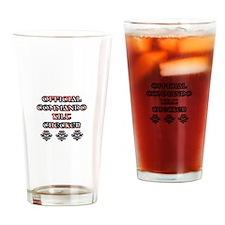 Commando Kilt Checker Drinking Glass