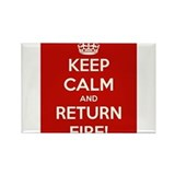 Keep Calm Rectangle Magnet