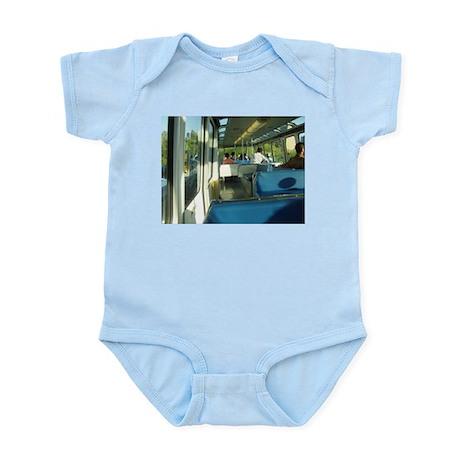 Seattle Monorail Infant Bodysuit