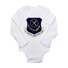 24th SOW Long Sleeve Infant Bodysuit