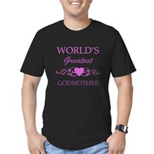 World's Greatest Godmother (purple) T