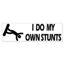 Snow Boarding, Snowboard Stunts Bumper Bumper Sticker