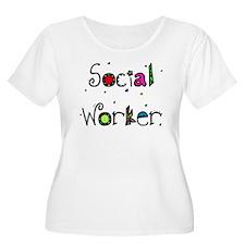 social worker PILLOW Plus Size T-Shirt