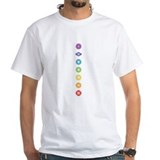 7 chakras Ash Grey T-Shirt