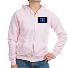 Three Percent Glow Zip Hoodie