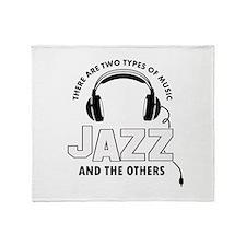 Jazz lover designs Throw Blanket