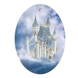 Fairytale Castle Ornament (Oval)