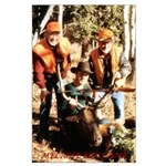 Elk hunt 2001 Melrose Elk Camp Large Poster