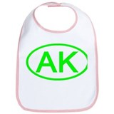 AK Oval - Alaska Bib
