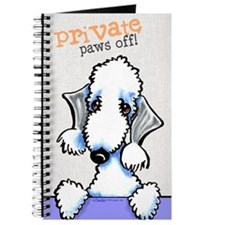 Bedlington Terrier PAWS OFF Journal
