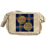 Alabama Centennial Coin Messenger Bag