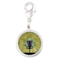 Tie Dye Disc Golf Basket Charms