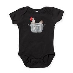 chicken pot pi Baby Bodysuit