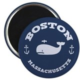 "Boston Whale Excursions 2.25"" Magnet (100 pack)"