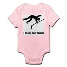 Ice Hockey, Hockey Stunts Infant Bodysuit