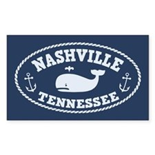 Nashville Whale Tours Decal