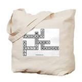R COHEN SCRABBLE-STYLE Tote Bag