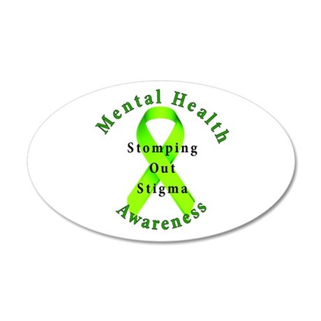 Stomping Out Stigma Wall Decal