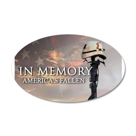 fallen solider Wall Decal