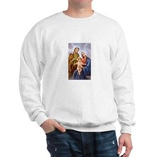 Jesus, Mary and Joseph Sweatshirt