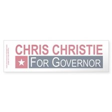 Elect Chris Christie Bumper Sticker