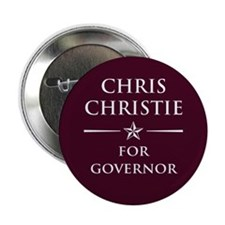 "Vote Chris Christie 2.25"" Button"