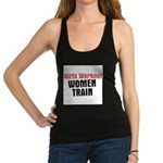 girls-workout-women-train.jpg Racerback Tank Top