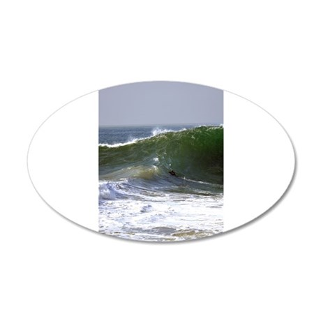 Violent Sea Wave Wall Decal