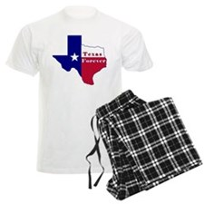 Texas Forever Flag Map Pajamas