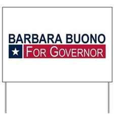 Elect Barbara Buono Yard Sign