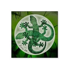 Green salamanders Sticker