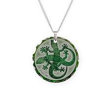 Green salamanders - Necklace