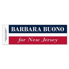 Barbara Buono for NJ Bumper Sticker