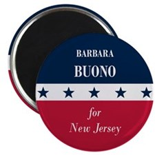 "Barbara Buono for NJ 2.25"" Magnet (100 pack)"