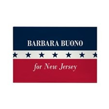 Barbara Buono for NJ Rectangle Magnet (100 pack)
