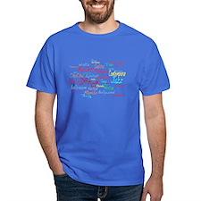 Cheerful Dance Cloud T-Shirt