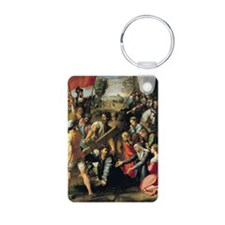 Calvary, 1517 @oil on canvasA - Keychains