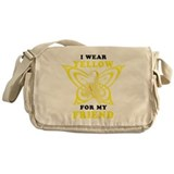 I Wear Yellow For My Friend Messenger Bag