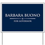 Vote Barbara Buono Yard Sign