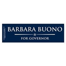 Vote Barbara Buono Bumper Sticker