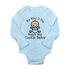 Mom Is Worlds Best Cookie Baker Long Sleeve Infant