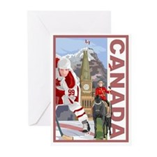 Canada Greeting Cards (Pk of 10)