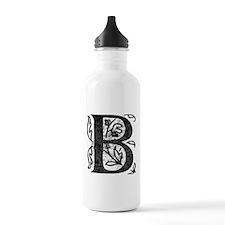 Fancy Monogram B Water Bottle