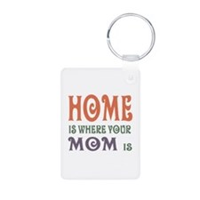 Home is Where Mom is Keychains